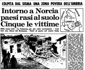 Terremoto Norcia 1979