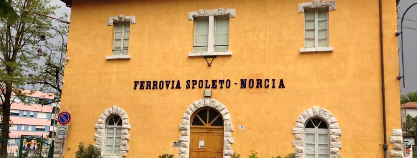 STazione di Spoleto - Ferrovia Spoleto Norcia