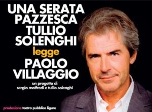 Spettacolo Tullio Solenghi a Norcia